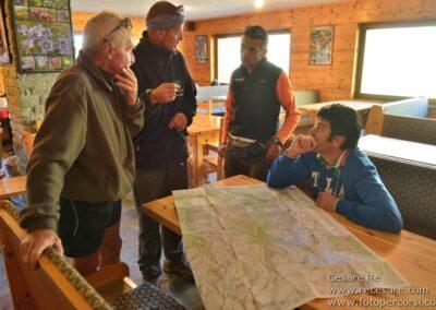 Cartina trekking Cesare Re