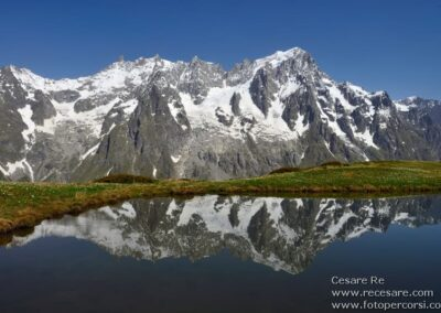 Grandes Jorasses Monte Bianco