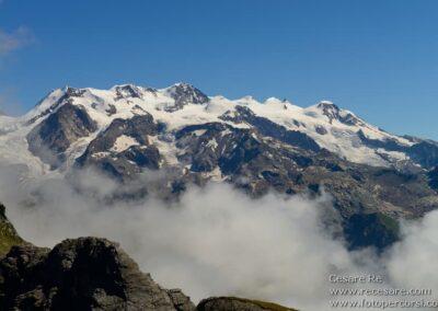 Monte Rosa, foto di Cesare Re