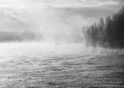 Nebbia fiume ticino cesare re