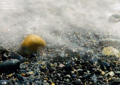 cogoleto liguria spiaggia sasso onda