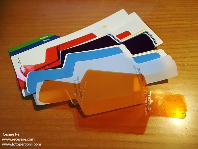 filtri gelatine flash