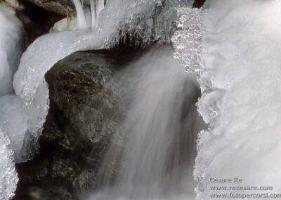 fotografare il ghiaccio