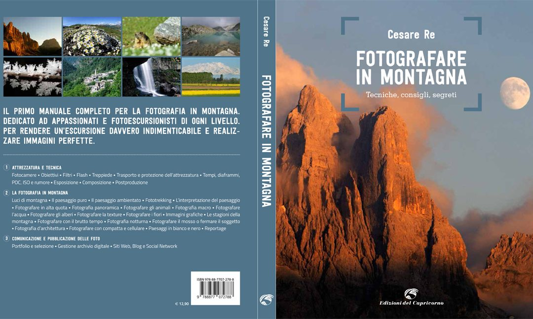 Il mio libro Fotografare in Montagna
