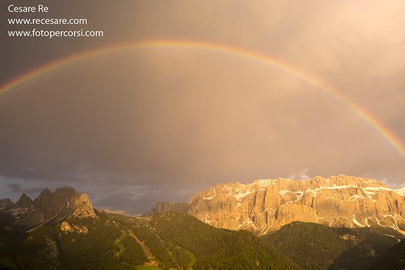 La magia di un arcobaleno